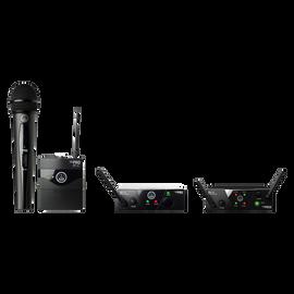 WMS40 Mini - Black - Professional plug&play wireless system - Hero