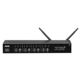 DSRTETRAD (EU) - Black - Reference digital wireless multichannel receiver - Hero