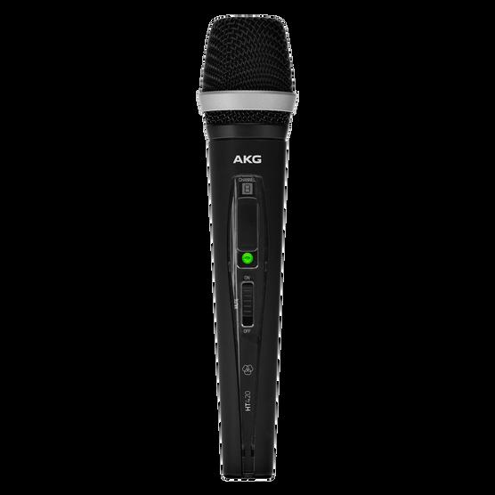 HT420 BandU1 - Black - Professional wireless handheld transmitter - Hero