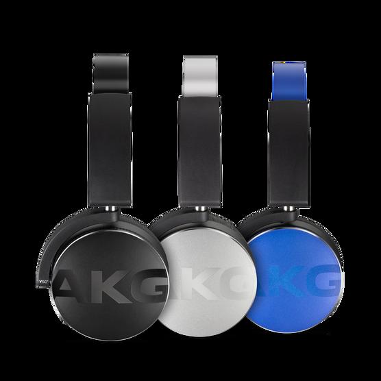 Y50BT - Blue - Premium portable Bluetooth speaker with quad microphone conferencing system - Detailshot 4