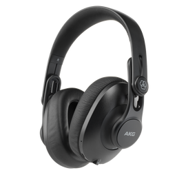 K361-BT - Black - Over-ear, closed-back, foldable studio headphones with Bluetooth - Hero