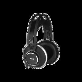 K872 - Black - Master reference closed-back headphones - Hero