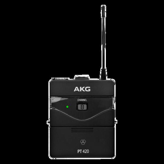 PT420 BandB1 - Black - Professional wireless body-pack transmitter - Hero