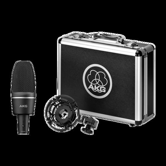 C3000 - Black - High-performance large-diaphragm condenser microphone - Detailshot 2