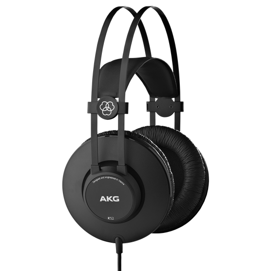 K52 - Black - Closed-back headphones - Hero
