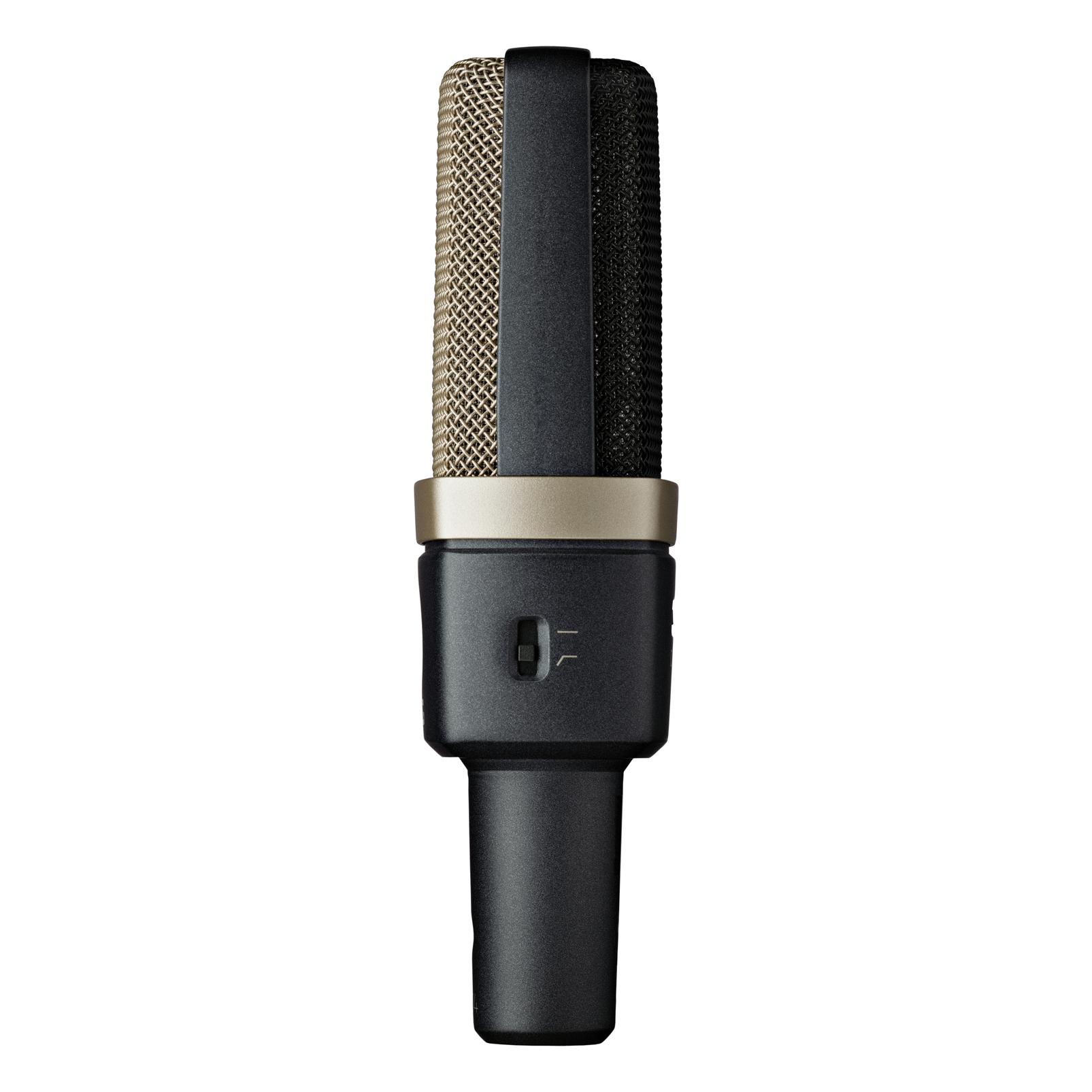 C314 - Black - Professional multi-pattern condenser microphone - Detailshot 2