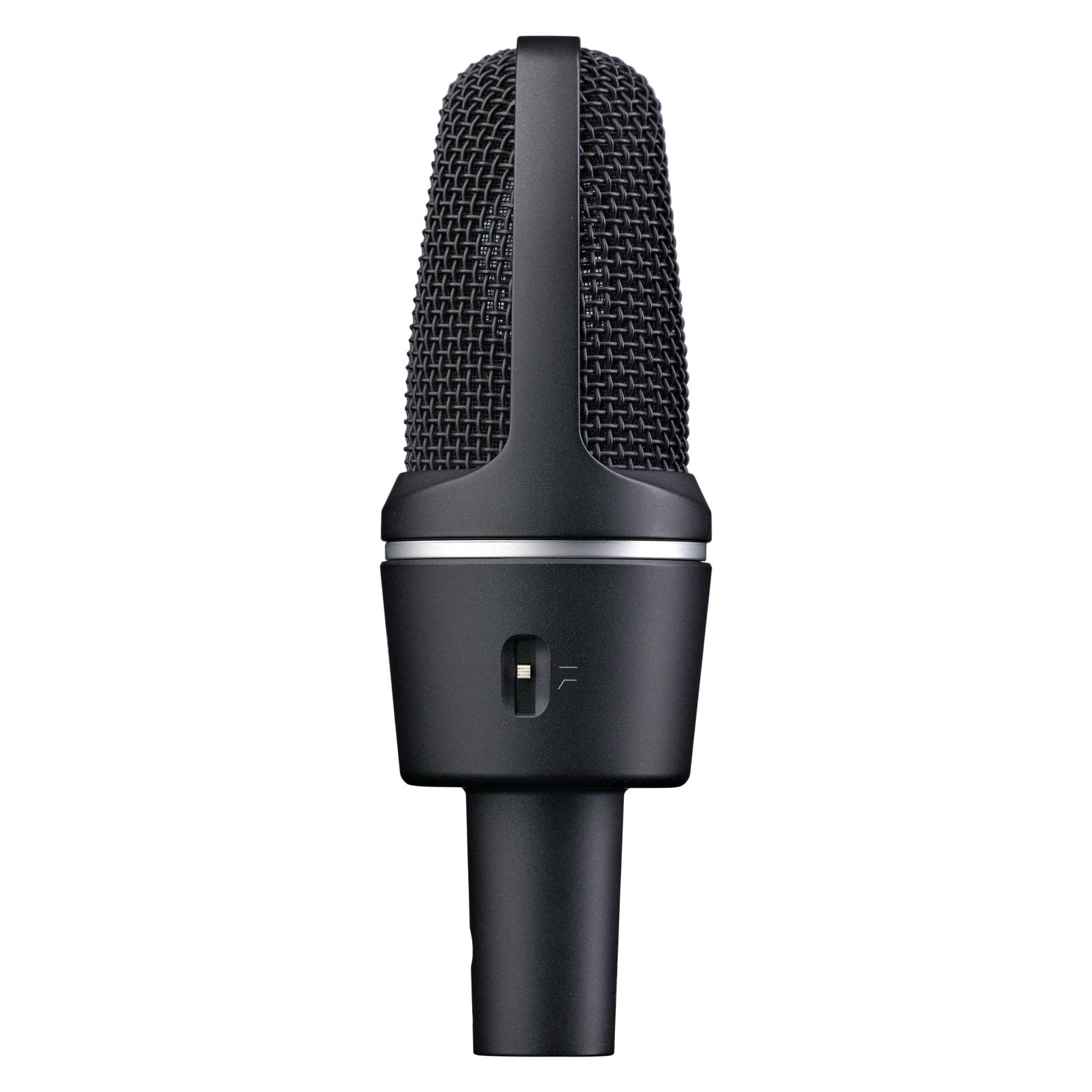 C3000 - Black - High-performance large-diaphragm condenser microphone - Left