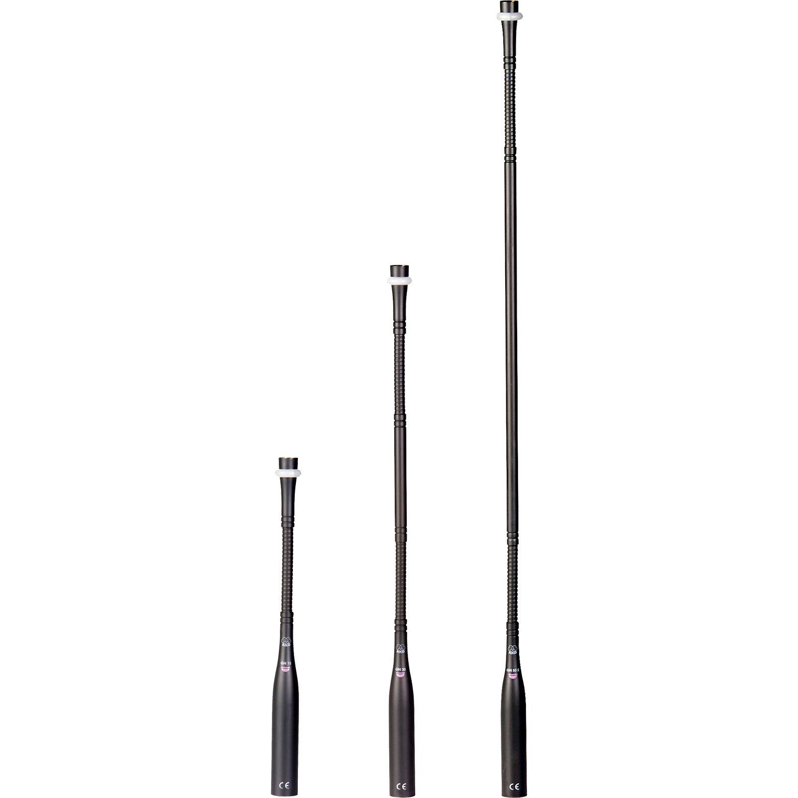 GN30 E 5Pin - Grey - 30cm (12in) High-performance modular gooseneck module - DAM Series - Hero