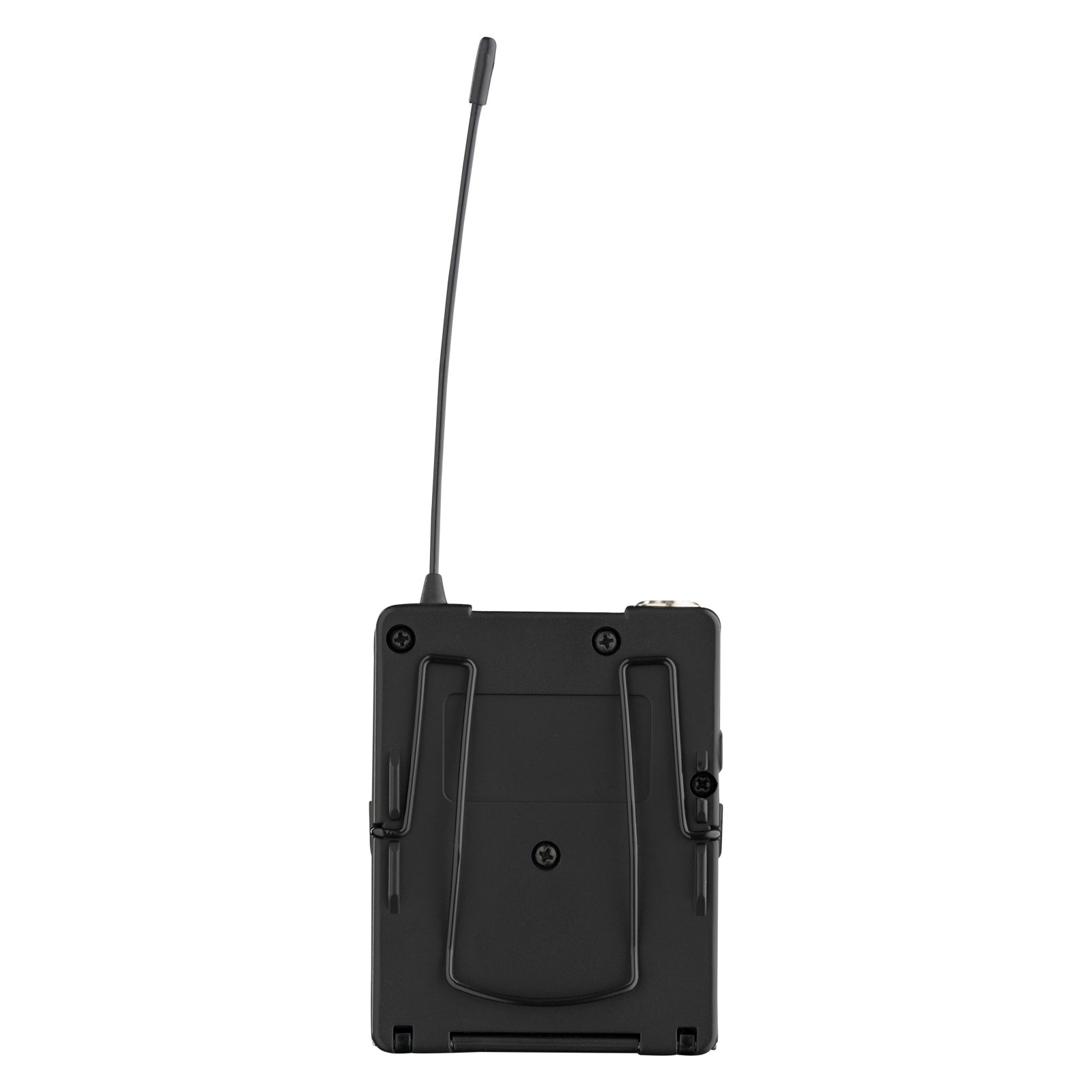 DPT800 Band2 50mW - Black - Reference digital wireless body pack transmitter - Back