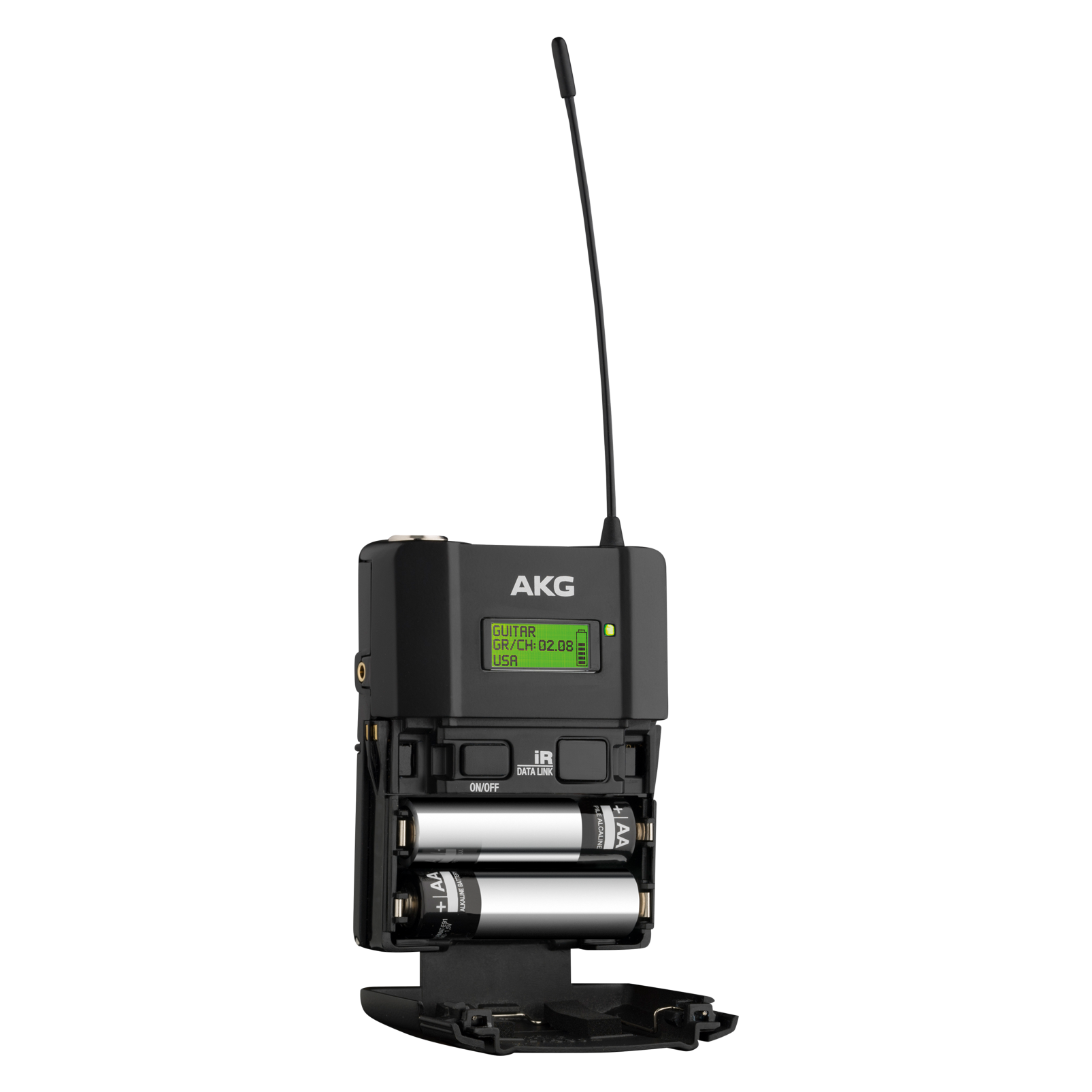 DPT800 Band2 50mW - Black - Reference digital wireless body pack transmitter - Detailshot 1